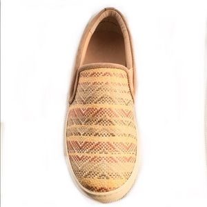 ALEX and ALEX woven printed slip on sneaker